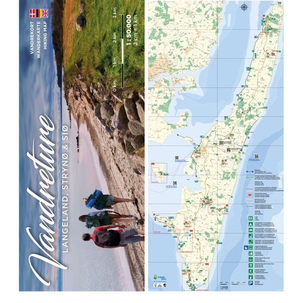 Hiking on Langeland, Strynø and Siø